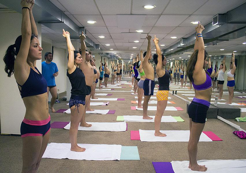 Mi primera clase de Bikram Yoga